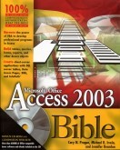 Access-Access 2003 Bible